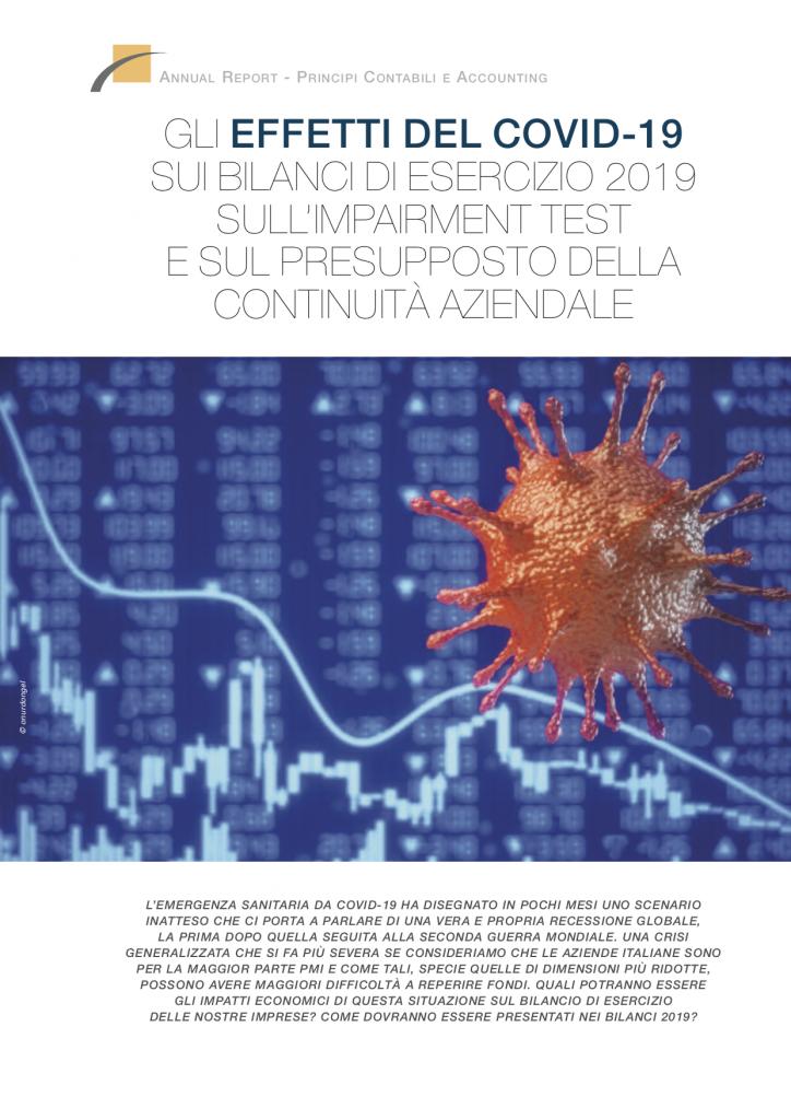GLI EFFETTI DEL COVID-19 SUI BILANCI 2019, SULL'IMPAIRMENT TEST E SULLA CONTINUITÀ AZIENDALE